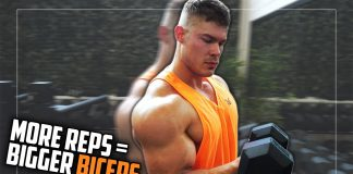 AMAZING TRICK To Extend The Reps On Dumbbell Curls