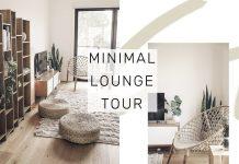 The Living Room | MINIMAL ROOM TOUR | Rachel Aust