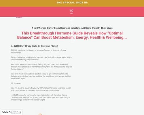 Power Of Hormones - Womens Health Offer