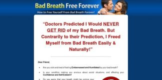 Bad Breath Free Forever - The 100% Natural Remedy For Bad Breath!