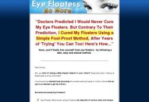Eye Floaters No More - Get Rid of Eye Floaters Easily, Naturally and Forever