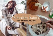 8 healthy habits that *really* changed my life ☀️feel happy & healthy
