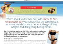 1 Minute Weight Loss - Forget the exercise regimes