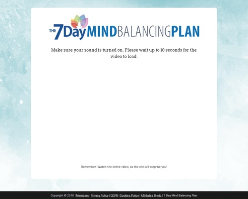 High Converting Sleep Offer - Mind Balancing