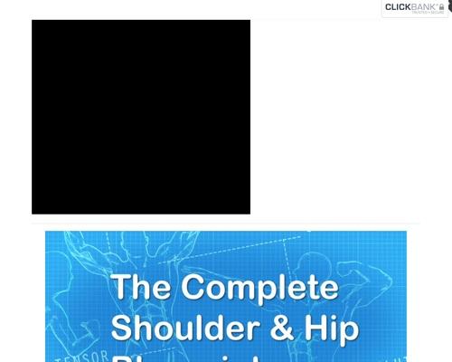 Even More Complete Shoulder and Hip Blueprint - Complete Shoulder & Hip Blueprint