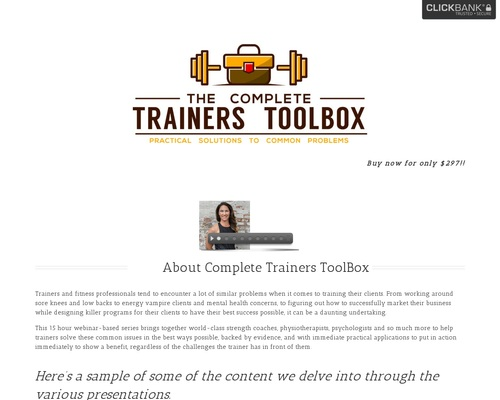 Complete Trainers Toolbox – Practical Solutions to Common Problems