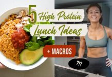 5 EASY HIGH PROTEIN LUNCH IDEAS
