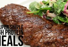 5 Super Simple High Protein Meals