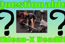 Jeff Cavaliere of Athlean-X REAL WEIGHT DEADLIFT (WHY this confirms FAKE WEIGHTS BEFORE!!!)