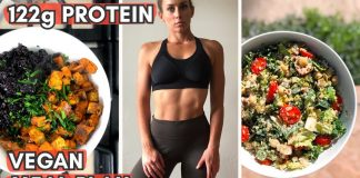 Beginner High Protein Vegan Meal Plan for FAT LOSS