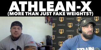 ATHLEAN-X | Is there more to it than just fake weights? | Fouad Abiad & Ben Chow