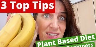 Plant Based Diet For Beginners - My Top 3 Tips For Newbies!