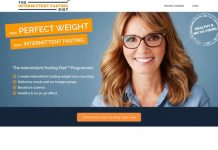 Intermittent Fasting Diet: 16/8 coaching guide with instructions and recipes