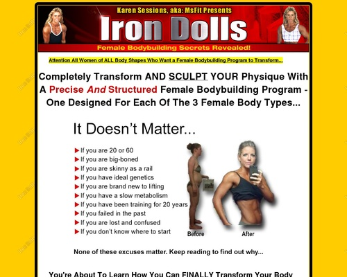 Female Bodybuilding Program to Transform Your Body