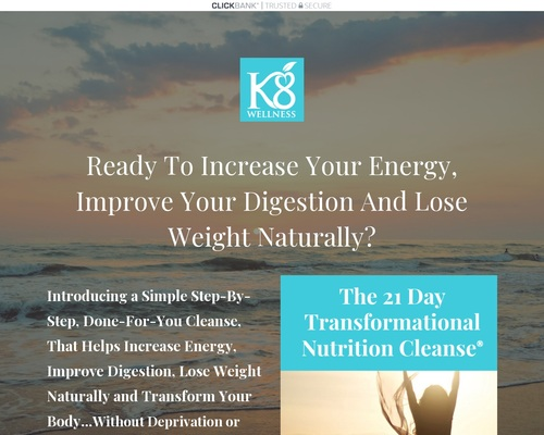 21 Day Transformational Nutrition Cleanse