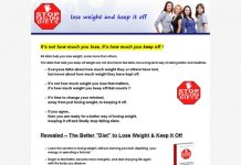 Stop Failing Diets - How To Lose Weight And Keep It Off