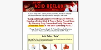 Stop Acid reflux Now! - Acid Reflux, GERD and Heartburn Relief