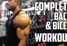 FULL BACK&BICEP WORKOUT - Competing at ROMANIA PRO!