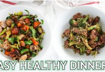 EASY PALEO DINNER RECIPES: healthy low carb dinner ideas