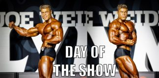 THE 2018 OLYMPIA - SHOW DAY - Wesley Vissers - Part 2