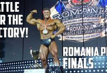 PART 2: ROMANIA PRO 2019 FINALS - OLYMPIA 2020 QUALIFICATION!