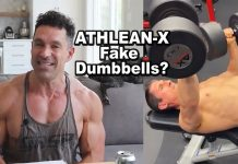ATHLEAN X Uses Fake Dumbbells? (Greg Doucette Weighs In)