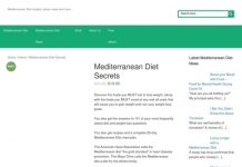 Mediterranean Diet Secrets - MediterraneanDietSecrets.com: Mediterranean diet information including, recipes, diet plans, news & more.