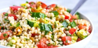 Our Favorite Lemon Herb Couscous Salad Recipe