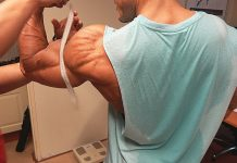 HEAVY Chest Workout - MEASURING MY ARMS!