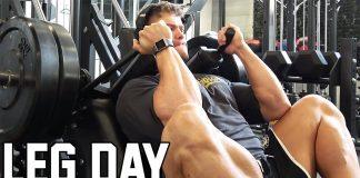 LEG 'n CALF DAY + Stretching Routine