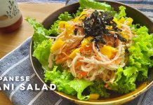 Japanese Kani Salad Recipe | How to make Japanese Kani Salad