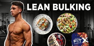 My Lean Bulking Diet | How To Eat To Get Abs & Build Muscle