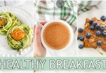 Paleo Breakfast Recipes | easy, healthy breakfast ideas