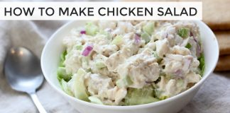 HOW TO MAKE CHICKEN SALAD | 3 easy healthy chicken salad recipes