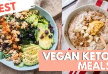 BEST KETO VEGAN MEAL | Favorite Keto Meals + Recipe | Day 9