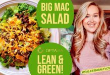 LEAN AND GREEN // BIG MAC SALAD RECIPE // #ShleesHealthJourney