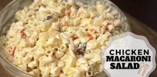 Chicken Macaroni Salad - Pinoy Style ( Christmas Recipes )