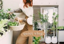 quiet days at home 🌿 creating a balcony garden
