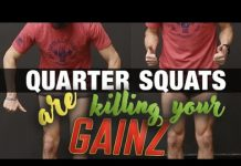 ATHLEAN-X - Quarter Squats WILL NOT Make your Legs Bigger!