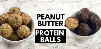Protein Balls Peanut Butter | Protein Snacks | LadyBoss Lean Recipes