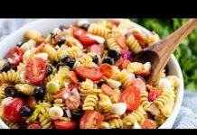 How to Make Italian Pasta Salad | The Stay At Home Chef