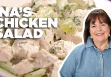The Perfect Chicken Salad Recipe with Ina Garten | Food Network