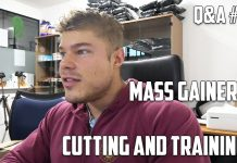 Q&A #24 - Best Way to Train when Cutting - Pre-Workout Advice - Thoughts on Mass Gainers