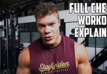FULLY EXPLAINED CHEST WORKOUT + Shoulder Pain Stretches