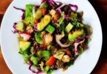 High Protein Veg Salad Recipe in Under 5 minutes | Protein Diet for Vegetarians @ Guru's Cooking