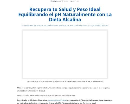 Dieta Alcalina para recuperar tu salud y peso ideal — dietaalcalina.net