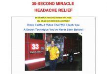 Headache Relief For Headache Pain in 30 Seconds!