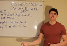 I Tried Athlean-X's 22 Day Bigger Chest Challenge And Gained 3 INCHES On My Chest!