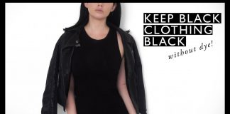 KEEP YOUR BLACK CLOTHES BLACK (without dye!) // Rachel Aust