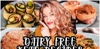 DAIRY FREE KETO RECIPES | WHAT'S FOR DINNER ON KETO? | EASY KETO MEAL IDEAS | Suz and The Crew